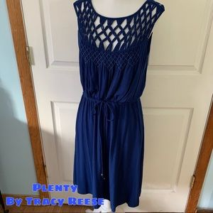 Plenty by Tracy Reese size m medium blue dress